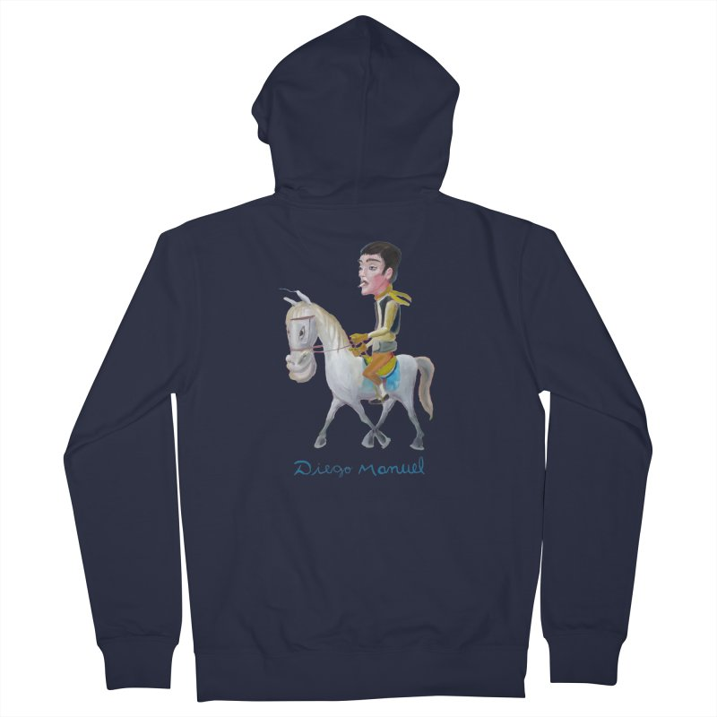 Gaucho Men's French Terry Zip-Up Hoody by diegomanuel's Artist Shop