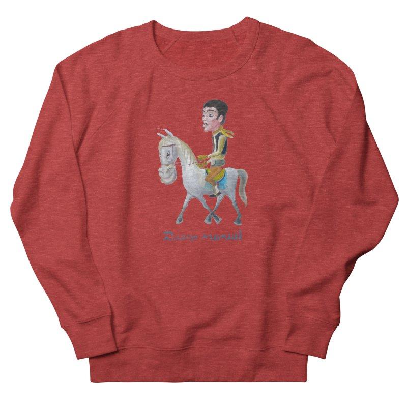 Gaucho Women's French Terry Sweatshirt by diegomanuel's Artist Shop