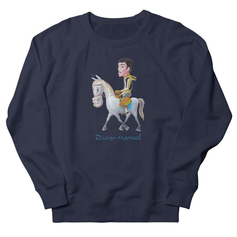 Gaucho Men's French Terry Sweatshirt by diegomanuel's Artist Shop