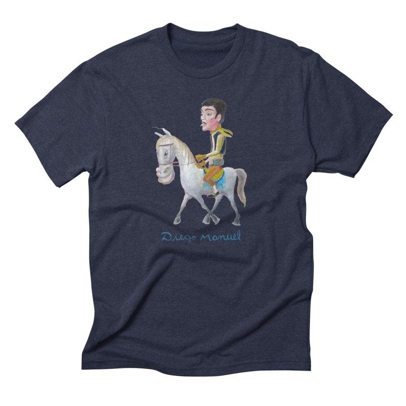 Gaucho Men's Triblend T-Shirt by diegomanuel's Artist Shop