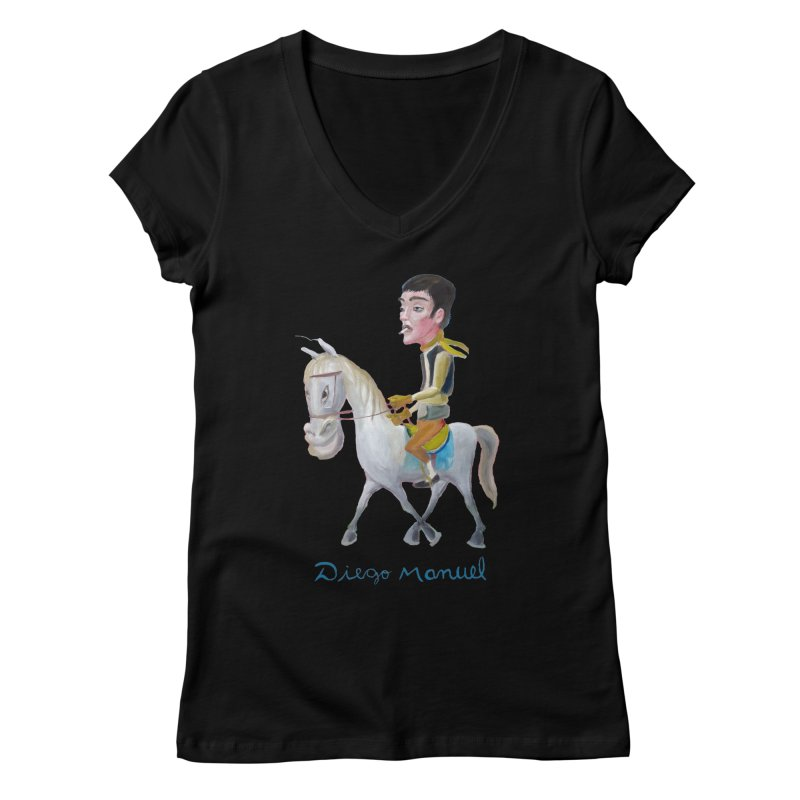Gaucho Women's Regular V-Neck by diegomanuel's Artist Shop