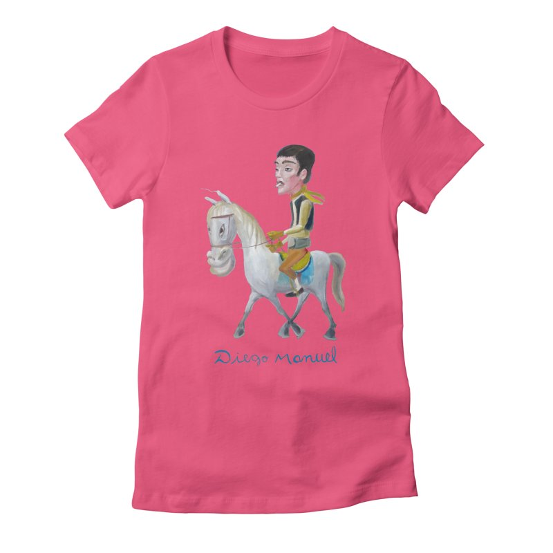 Gaucho Women's Fitted T-Shirt by diegomanuel's Artist Shop