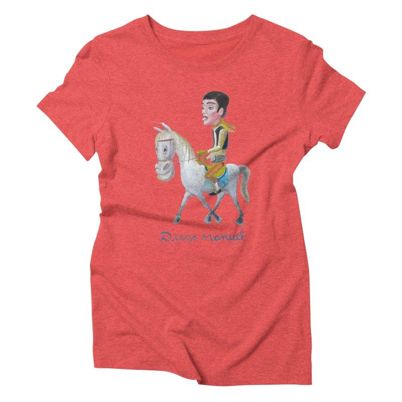 Gaucho Women's Triblend T-Shirt by diegomanuel's Artist Shop