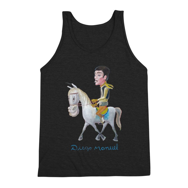 Gaucho Men's Triblend Tank by diegomanuel's Artist Shop