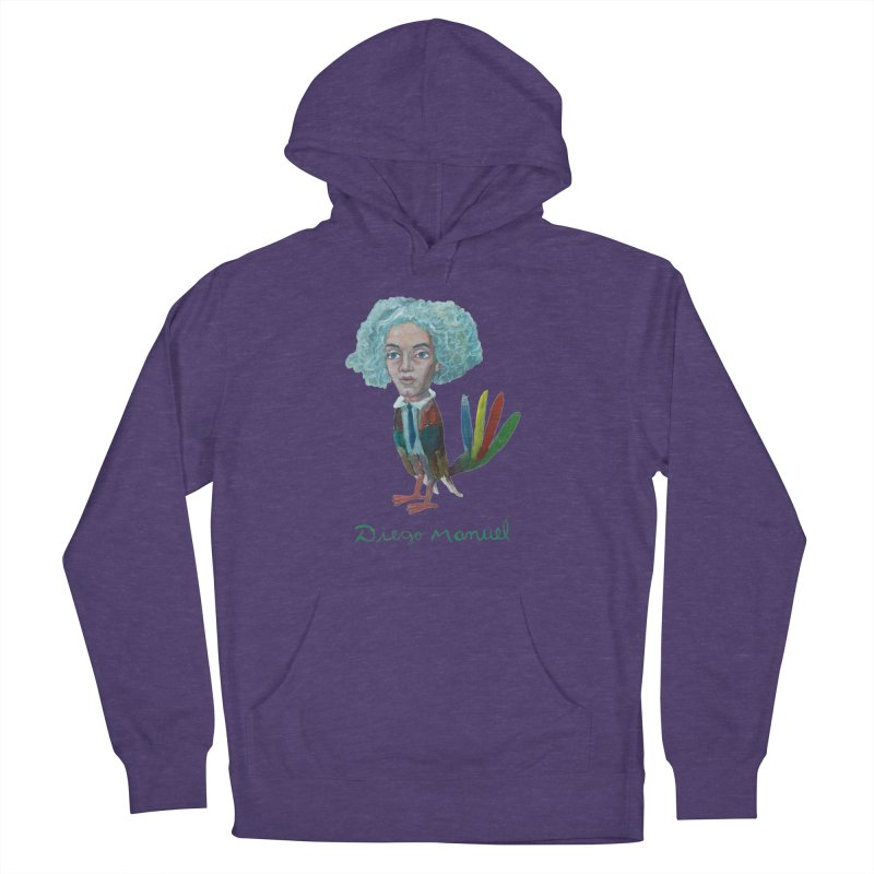 Beethoven bird 4 Women's French Terry Pullover Hoody by diegomanuel's Artist Shop