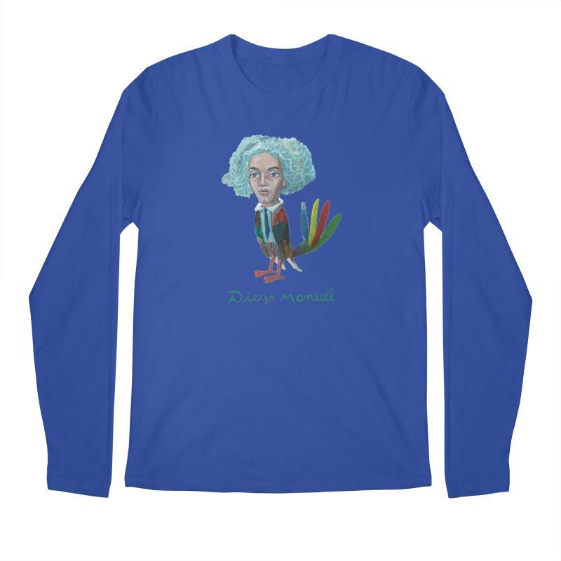 Beethoven bird 4 Men's Regular Longsleeve T-Shirt by diegomanuel's Artist Shop