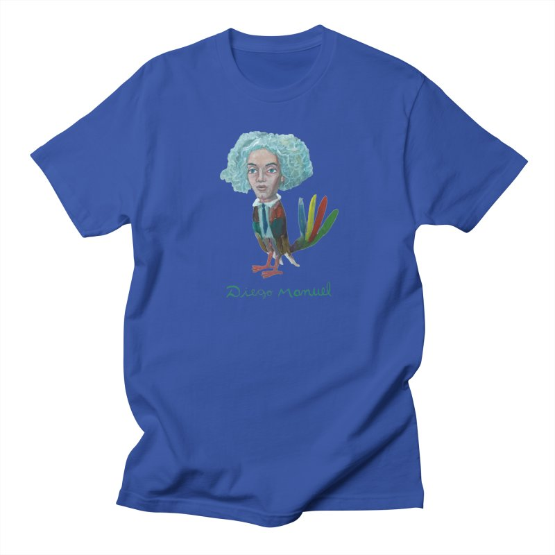 Beethoven bird 4 Men's T-Shirt by Diego Manuel Rodriguez Artist Shop