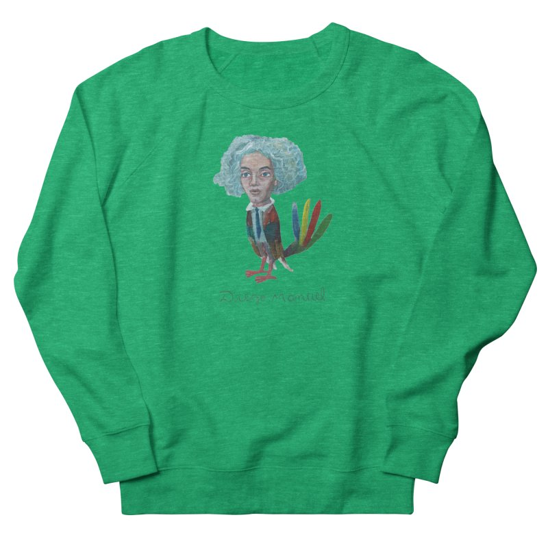 Beethoven bird 4 Women's Sweatshirt by Diego Manuel Rodriguez Artist Shop