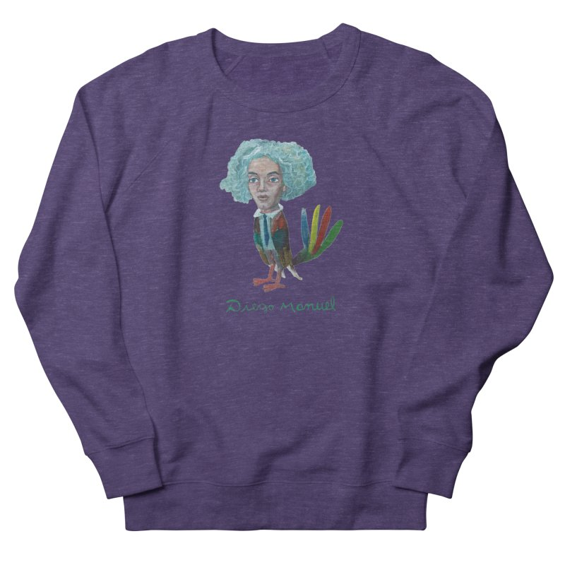 Beethoven bird 4 Women's French Terry Sweatshirt by diegomanuel's Artist Shop
