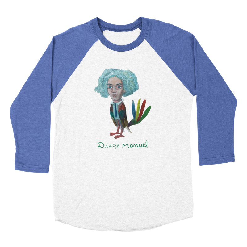 Beethoven bird 4 Men's Baseball Triblend Longsleeve T-Shirt by diegomanuel's Artist Shop
