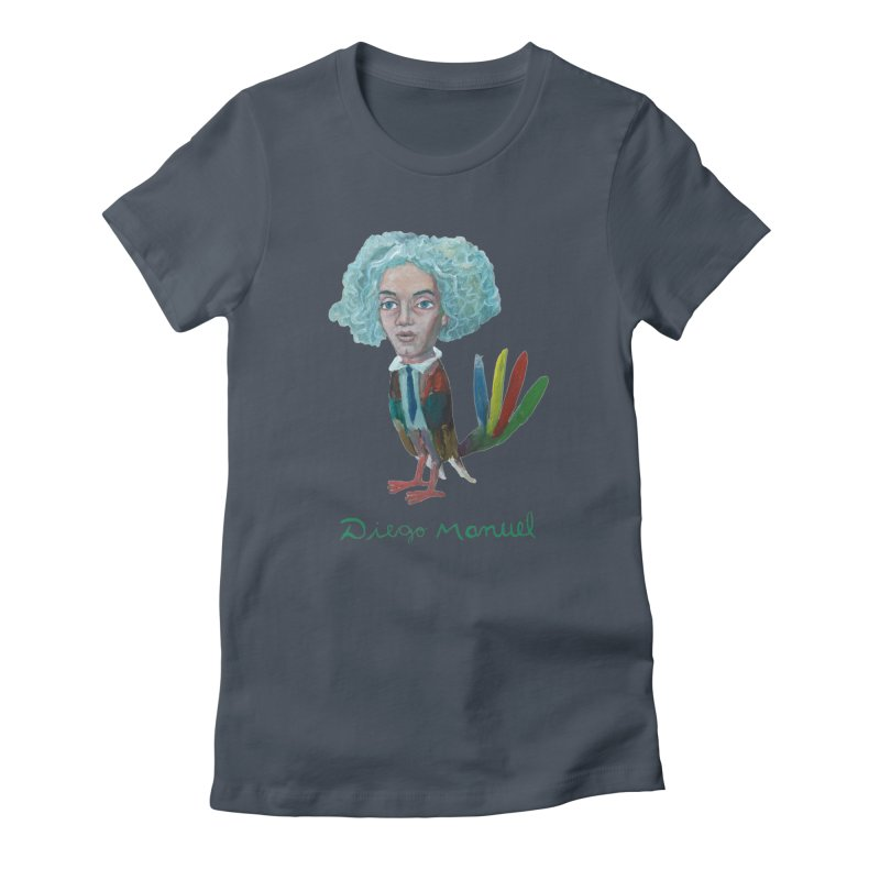 Beethoven bird 4 Women's T-Shirt by Diego Manuel Rodriguez Artist Shop