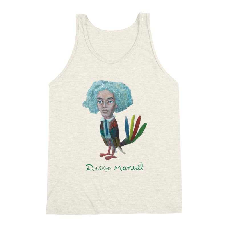 Beethoven bird 4 Men's Triblend Tank by diegomanuel's Artist Shop