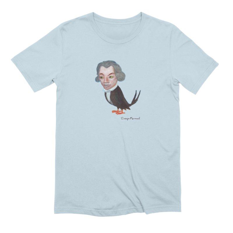 Beethoven bird Men's Extra Soft T-Shirt by diegomanuel's Artist Shop