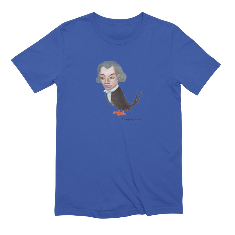 Beethoven bird Men's Extra Soft T-Shirt by diegomanuel's Artist Shop
