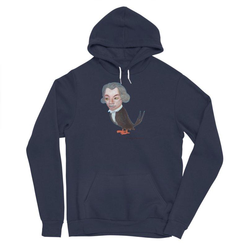 Beethoven bird Men's Sponge Fleece Pullover Hoody by diegomanuel's Artist Shop