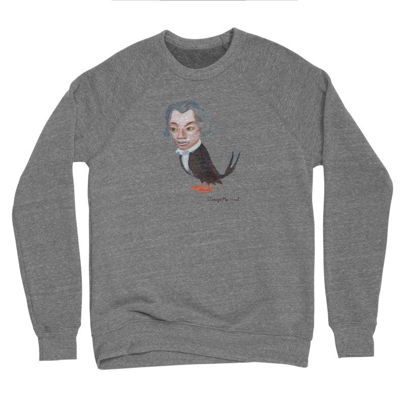 Beethoven bird Women's Sponge Fleece Sweatshirt by diegomanuel's Artist Shop