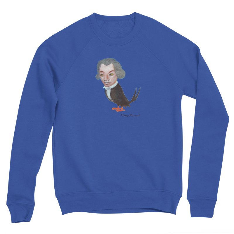 Beethoven bird Men's Sweatshirt by Diego Manuel Rodriguez Artist Shop
