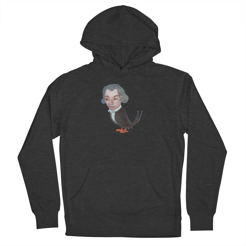 Beethoven bird Women's French Terry Pullover Hoody by diegomanuel's Artist Shop