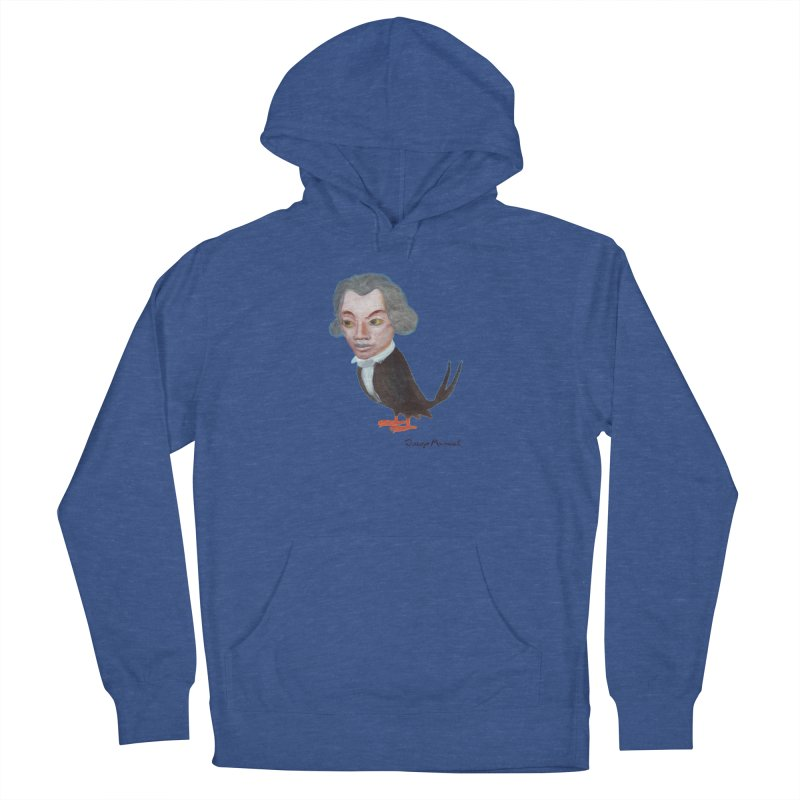 Beethoven bird Men's French Terry Pullover Hoody by diegomanuel's Artist Shop