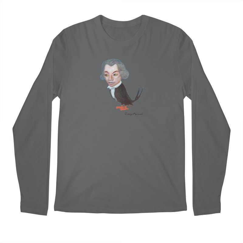 Beethoven bird Men's Longsleeve T-Shirt by Diego Manuel Rodriguez Artist Shop