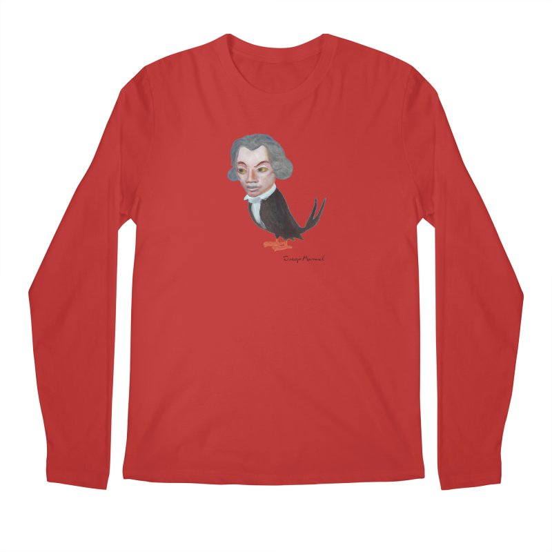 Beethoven bird Men's Longsleeve T-Shirt by diegomanuel's Artist Shop