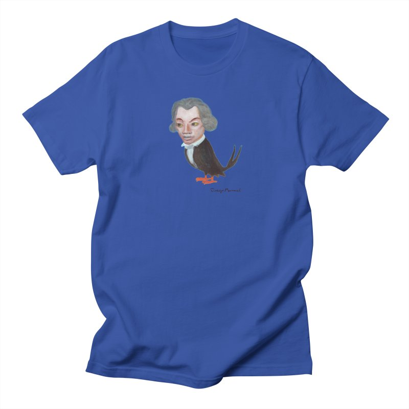 Beethoven bird Women's Regular Unisex T-Shirt by diegomanuel's Artist Shop