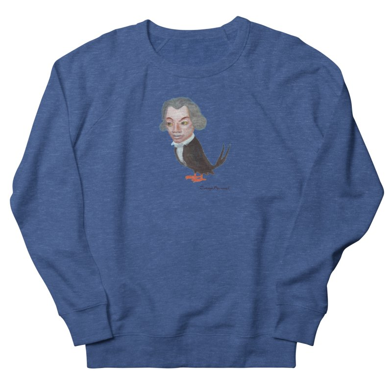 Beethoven bird Women's French Terry Sweatshirt by diegomanuel's Artist Shop
