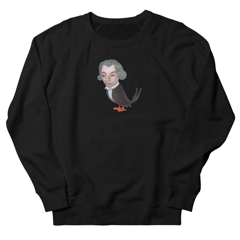 Beethoven bird Women's French Terry Sweatshirt by diegomanuel's Artist Shop