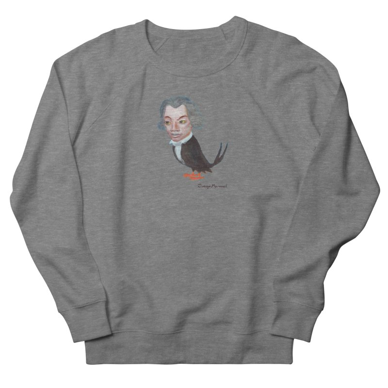 Beethoven bird Men's French Terry Sweatshirt by diegomanuel's Artist Shop