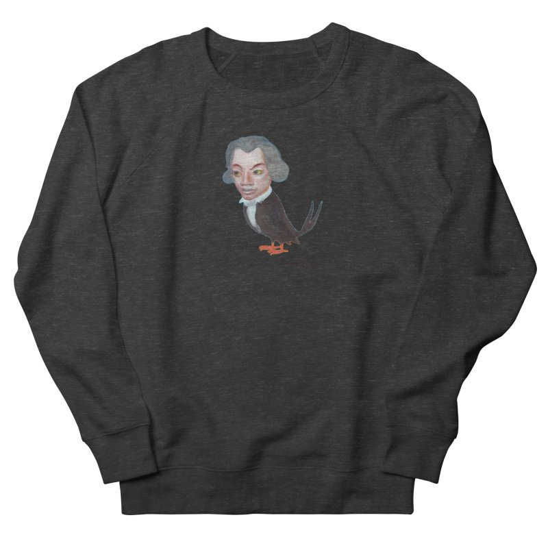Beethoven bird Men's French Terry Sweatshirt by diegomanuel's Artist Shop