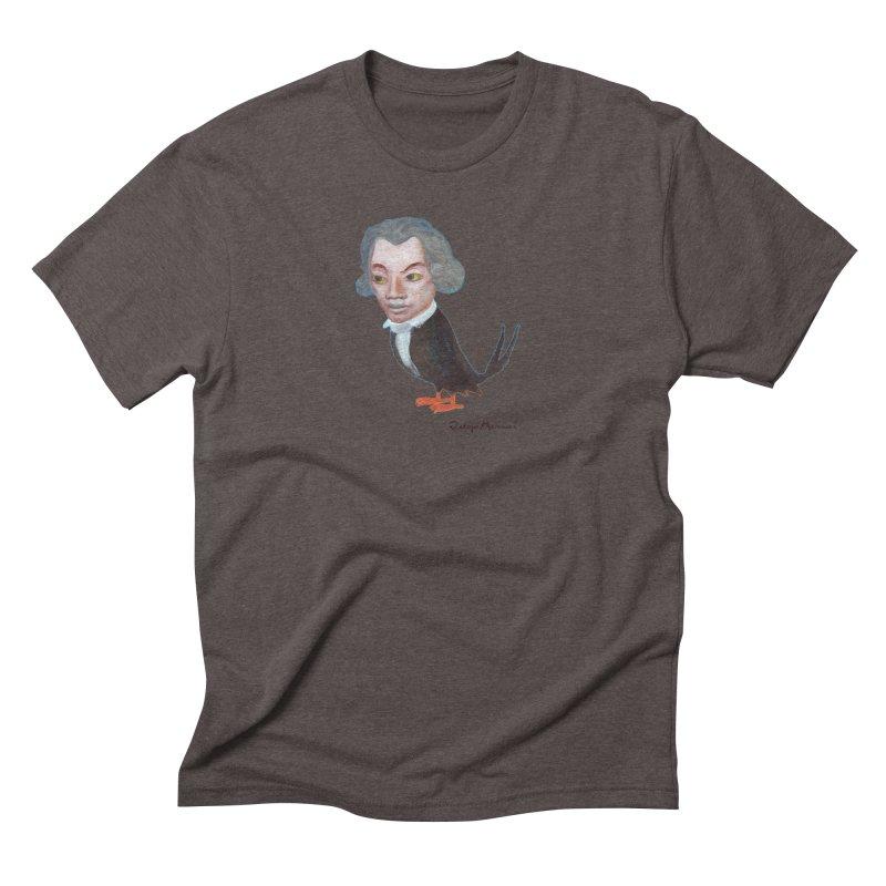 Beethoven bird Men's Triblend T-Shirt by diegomanuel's Artist Shop