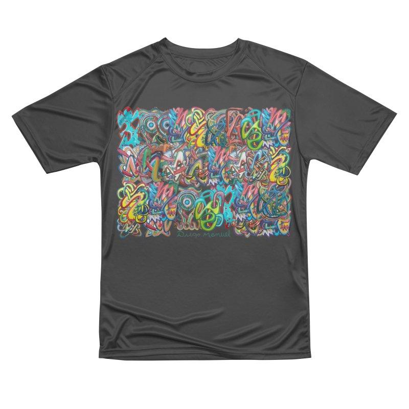Graffiti 2 Women's Performance Unisex T-Shirt by diegomanuel's Artist Shop