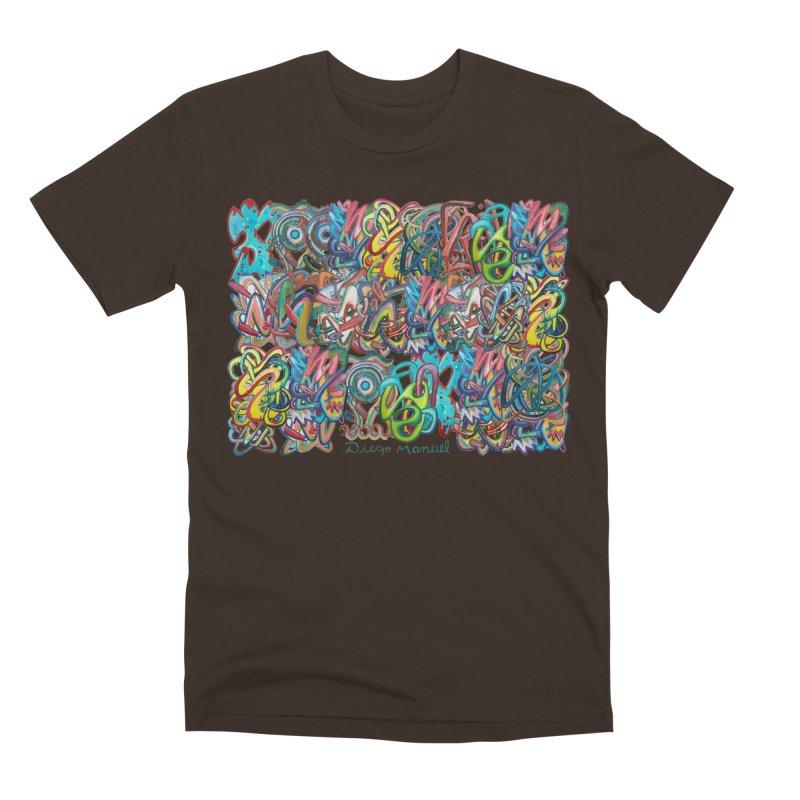 Graffiti 2 Men's Premium T-Shirt by diegomanuel's Artist Shop