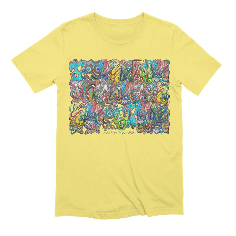 Graffiti 2 Men's Extra Soft T-Shirt by diegomanuel's Artist Shop