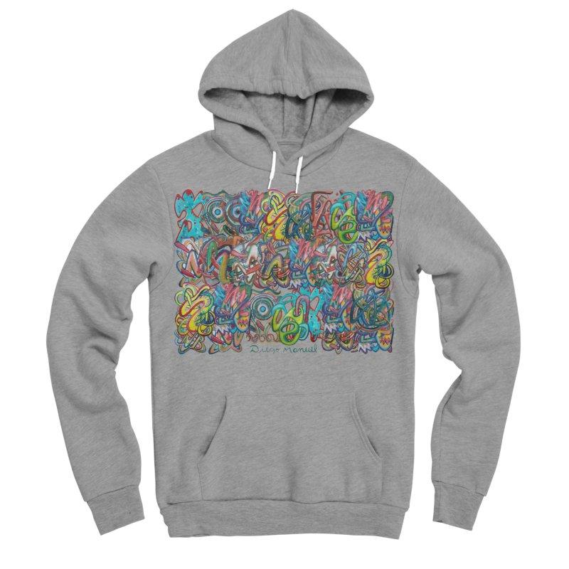 Graffiti 2 Men's Sponge Fleece Pullover Hoody by diegomanuel's Artist Shop