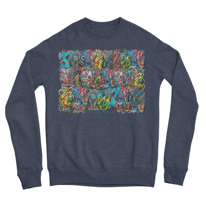Graffiti 2 Men's Sponge Fleece Sweatshirt by diegomanuel's Artist Shop