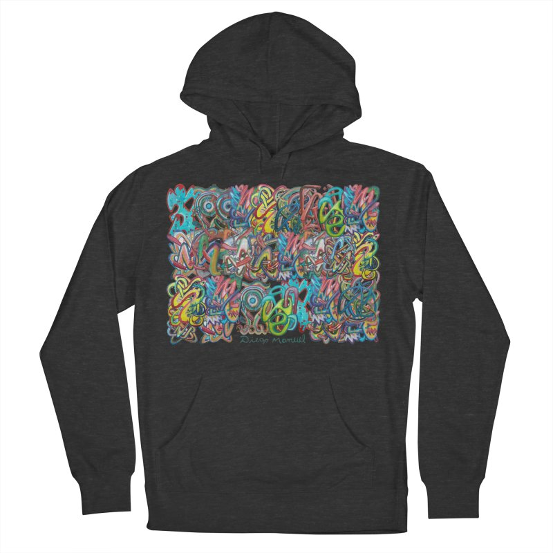 Graffiti 2 Women's French Terry Pullover Hoody by diegomanuel's Artist Shop