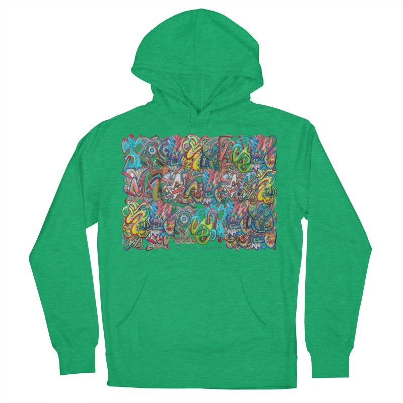 Graffiti 2 Men's French Terry Pullover Hoody by diegomanuel's Artist Shop