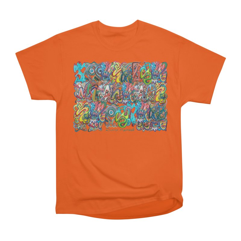Graffiti 2 Men's Heavyweight T-Shirt by diegomanuel's Artist Shop