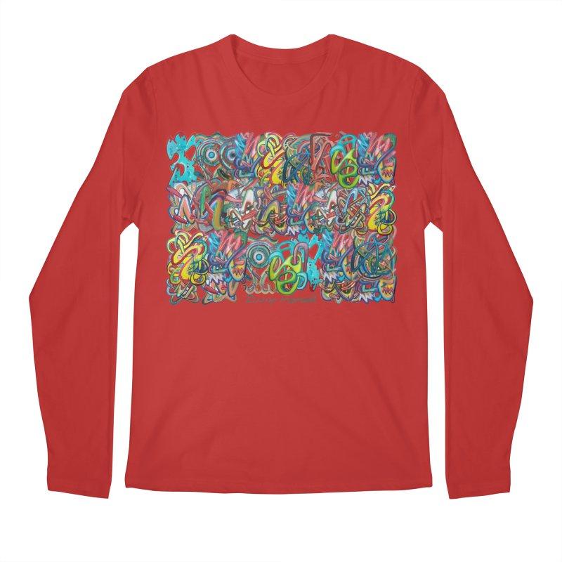 Graffiti 2 Men's Regular Longsleeve T-Shirt by diegomanuel's Artist Shop