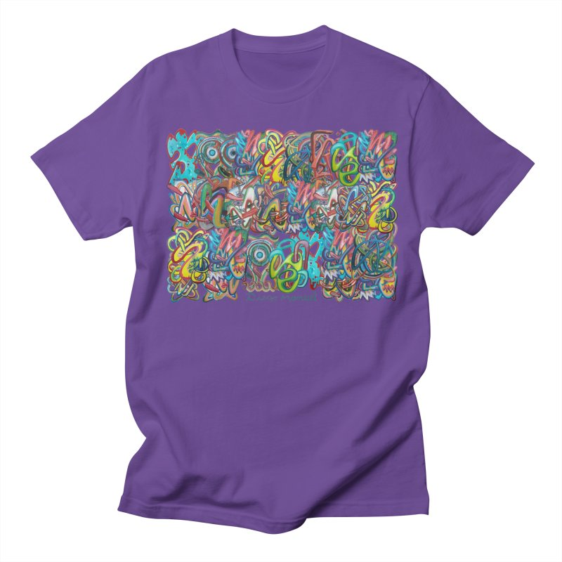 Graffiti 2 Men's T-Shirt by Diego Manuel Rodriguez Artist Shop