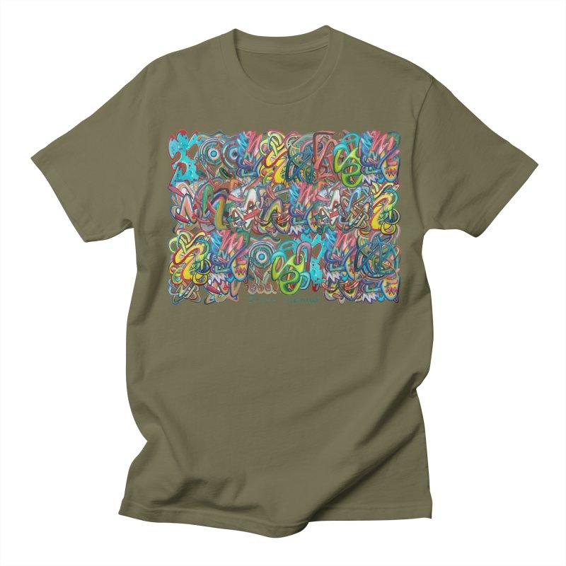 Graffiti 2 Men's Regular T-Shirt by diegomanuel's Artist Shop