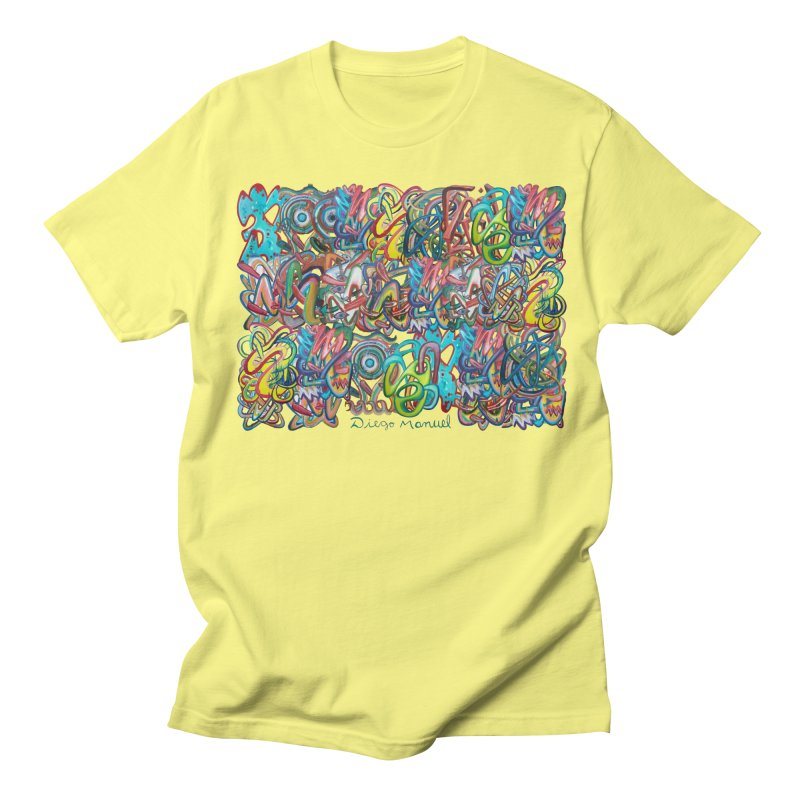 Graffiti 2 Men's T-Shirt by Diego Manuel Rodriguez Artist Shop