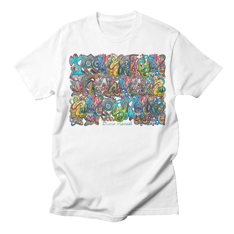 Graffiti 2 Women's Regular Unisex T-Shirt by diegomanuel's Artist Shop