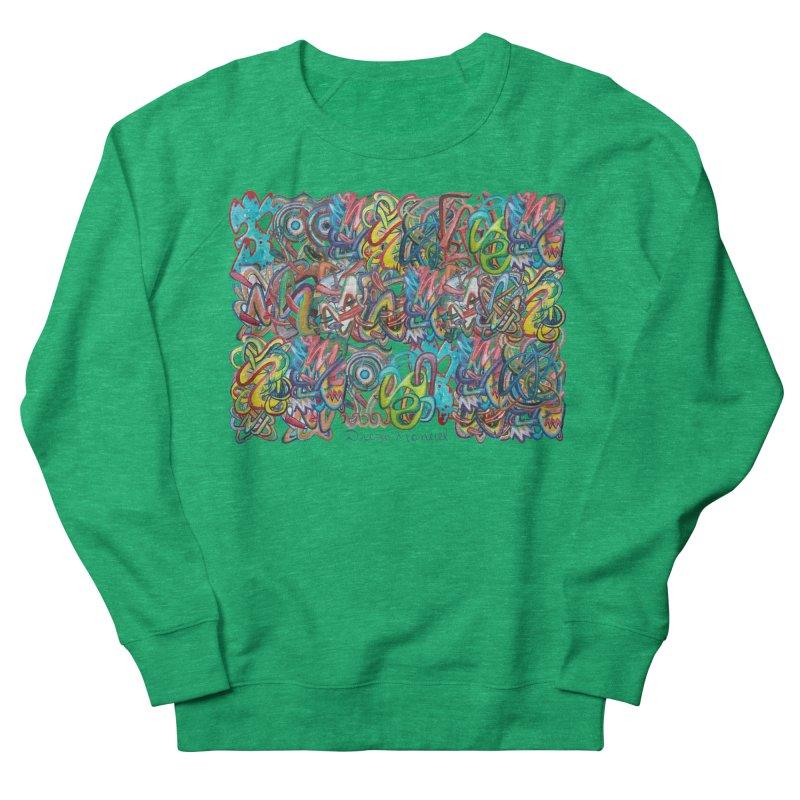 Graffiti 2 Women's Sweatshirt by diegomanuel's Artist Shop