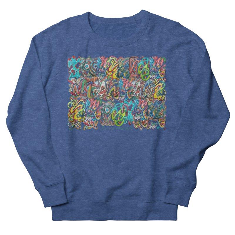Graffiti 2 Women's French Terry Sweatshirt by diegomanuel's Artist Shop