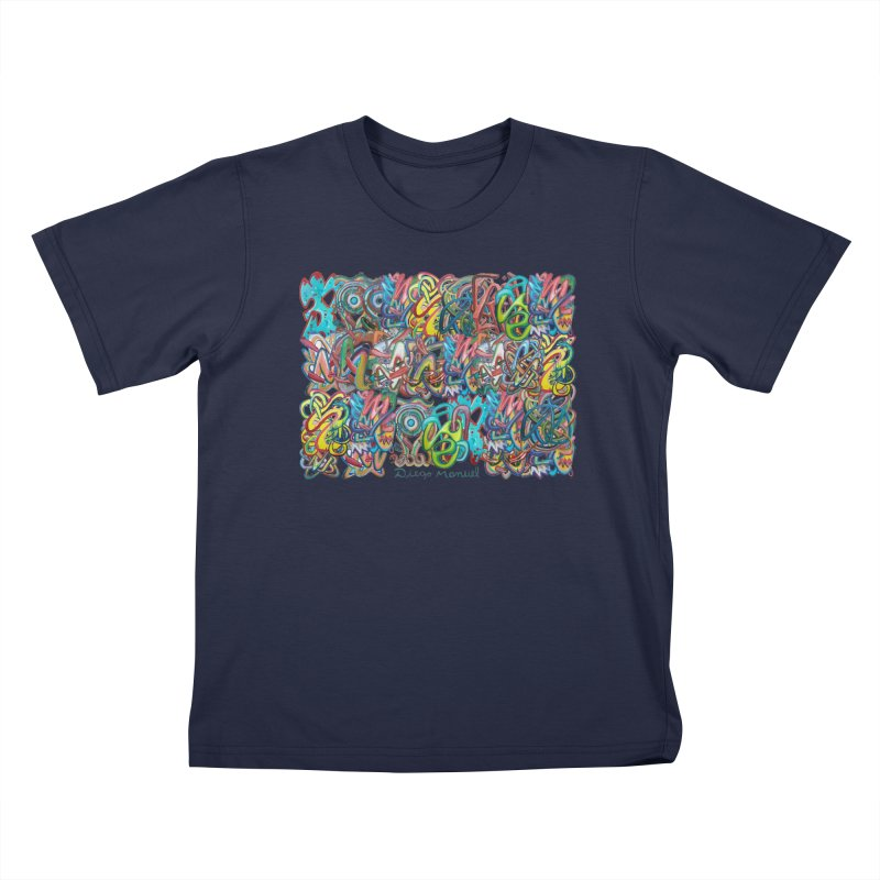 Graffiti 2 Kids T-Shirt by diegomanuel's Artist Shop