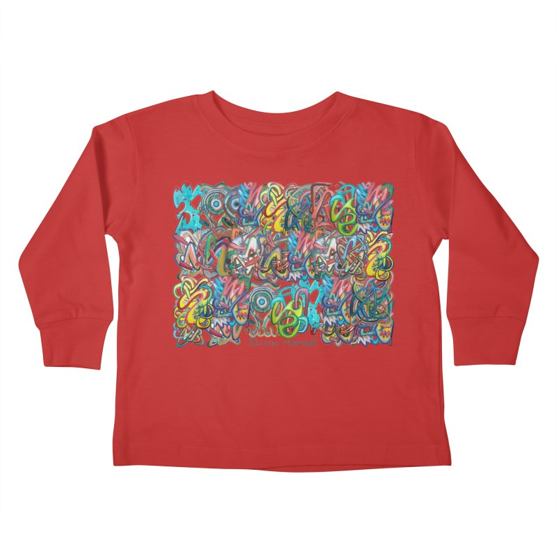 Graffiti 2 Kids Toddler Longsleeve T-Shirt by diegomanuel's Artist Shop