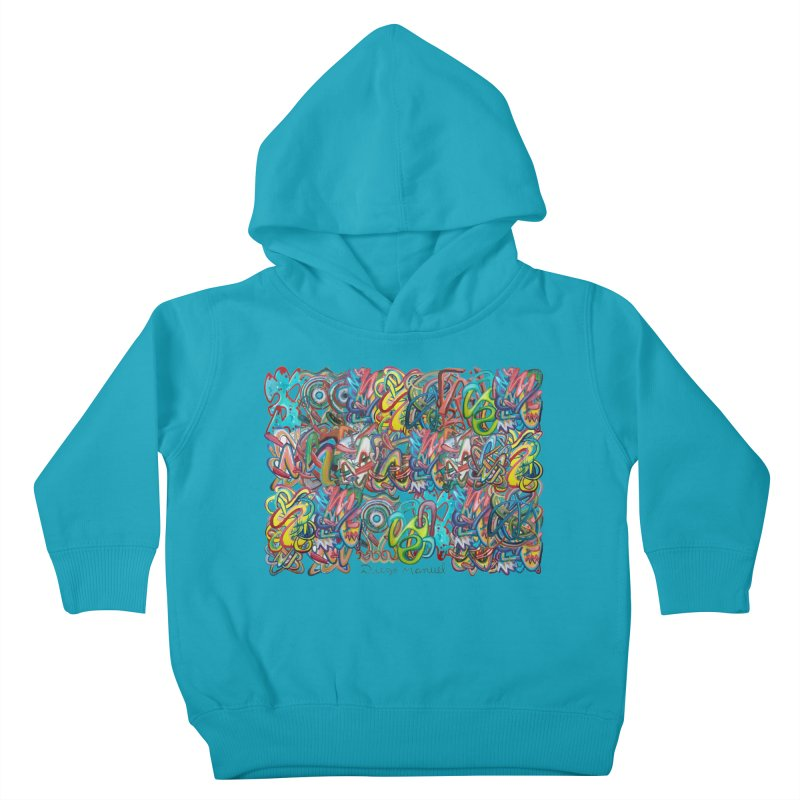 Graffiti 2 Kids Toddler Pullover Hoody by diegomanuel's Artist Shop