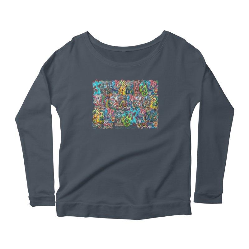 Graffiti 2 Women's Longsleeve T-Shirt by Diego Manuel Rodriguez Artist Shop